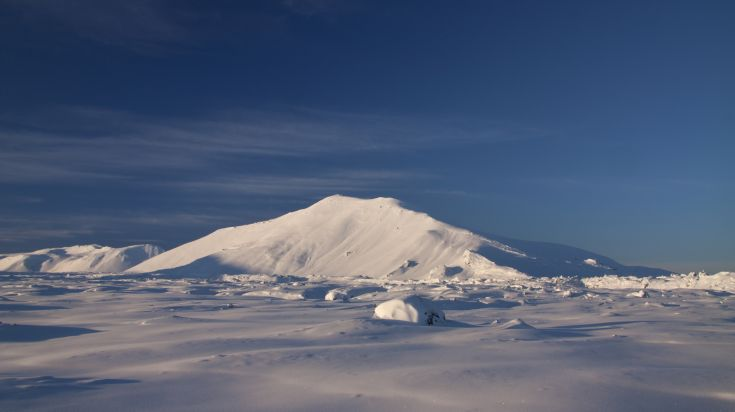 A trip of the Golden Circle Route is incomplete without Blafjoll Mountains