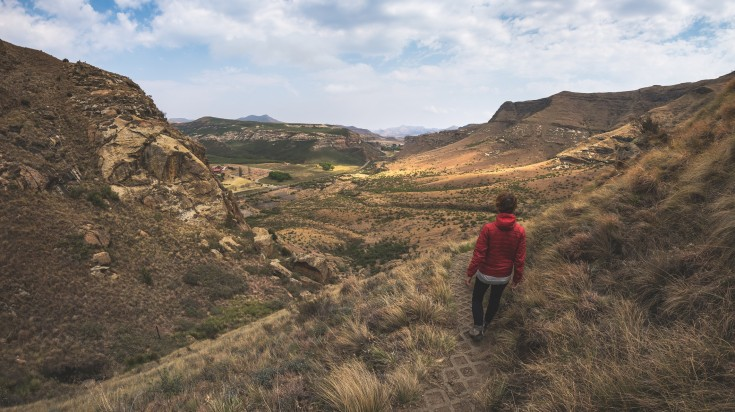 Golden Gate Highlands Hiking