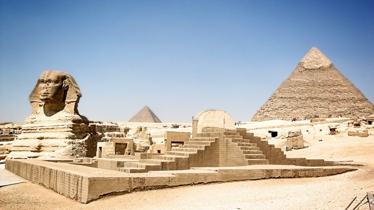 The Great Pyramid of Giza is one of the oldest pyramids in Egypt.