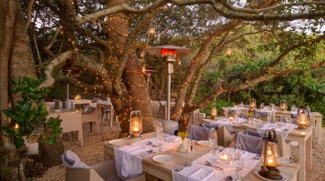 Experience Culinary Delights in the Boma garden of Grootbos