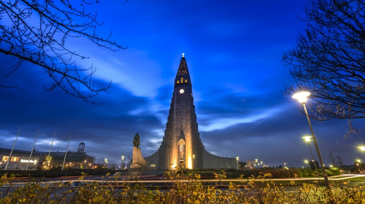 Visiting Hallgrimskirkja Cathedral is a thing to do in Reykjavik