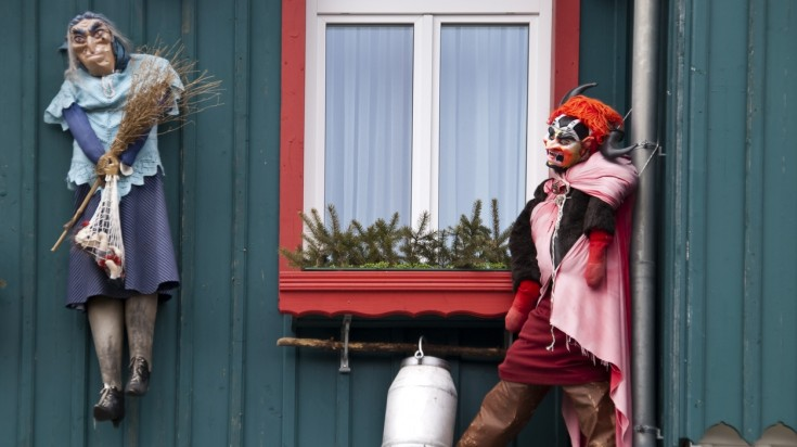 Halloween like traditions around the world Germany