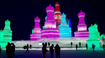 Best places to visit in China in winter has to be Harbin city