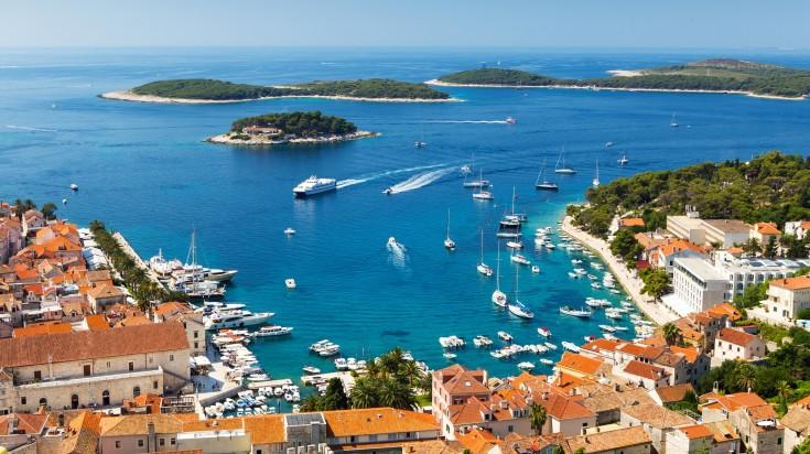 Hvar is a stunning Croatian island  located on the Dalmatian coast.