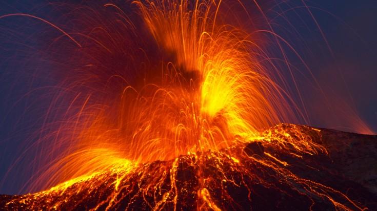 Hekla Volcano Eruption