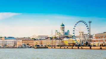 Helsinki, the capital and the largest city of Finland