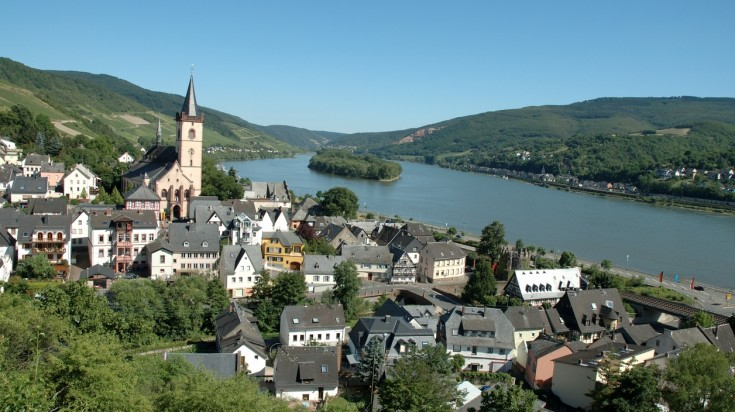The Rheinsteig is one of the most pretty trails for hiking in Germany
