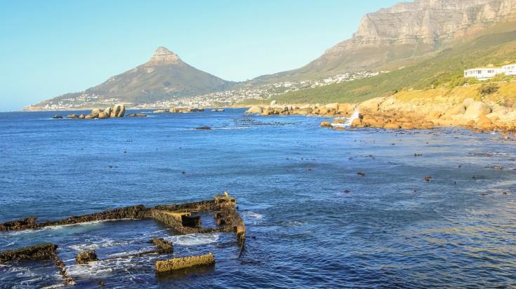 Shipwreck hiking trail in cape town