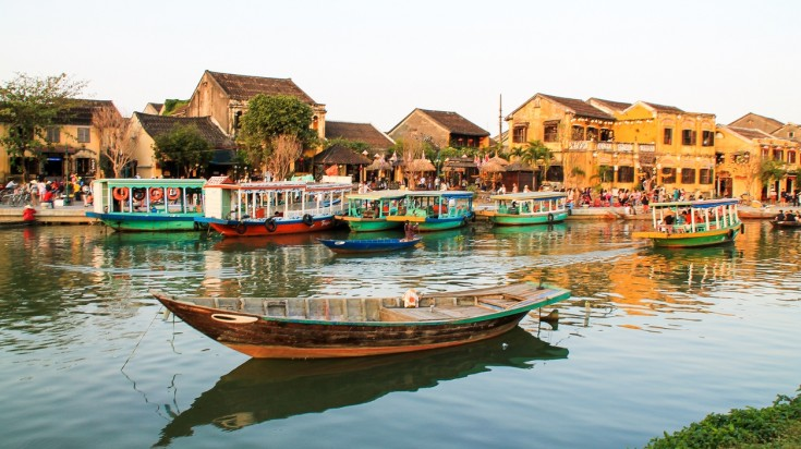 Hoi An is a quaint city in Vietnam that still reflects old Vietnam.