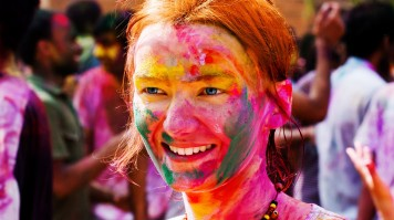 Holi is a festival of colors and love