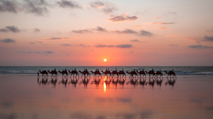 Honeymoon in Australia, visit Broome