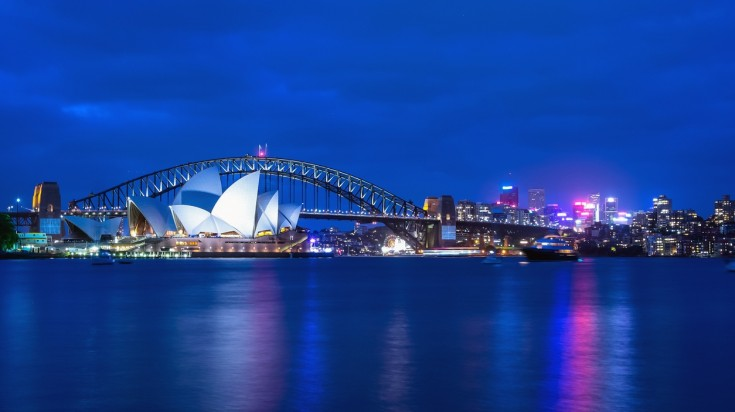 Sydney is a top destination for honeymoon in Australia