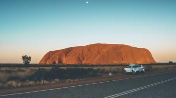 Honeymoon in Australia, visit Uluru Rock
