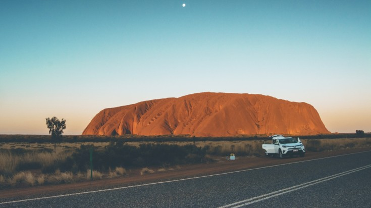 Honeymoon in Australia, visit Uluru Rock