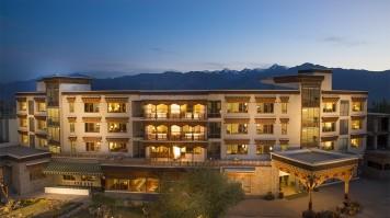 Dragon hotel in Ladakh