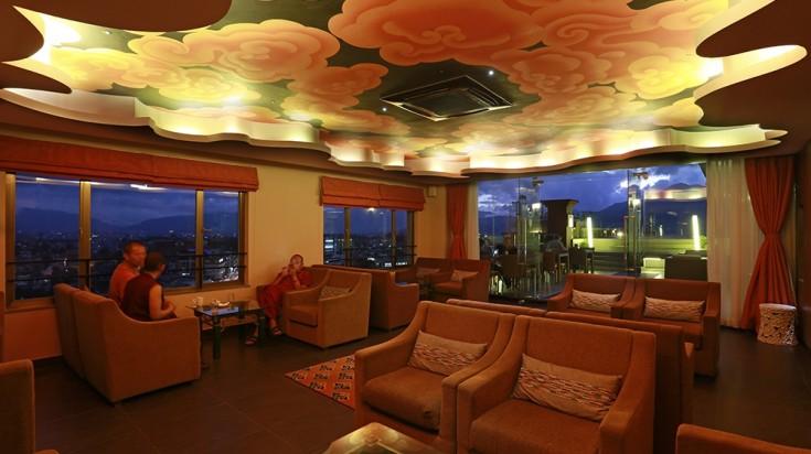Hotel Shambala's restaurant, boutique hotels in Kathmandu