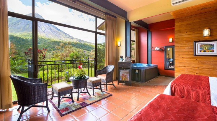 Hotel Arenal Kioro provides some stunning views of Arenal Volcano.