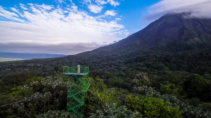 Hotels in Arenal cannot get any better than the Arenal Observatory Lodge