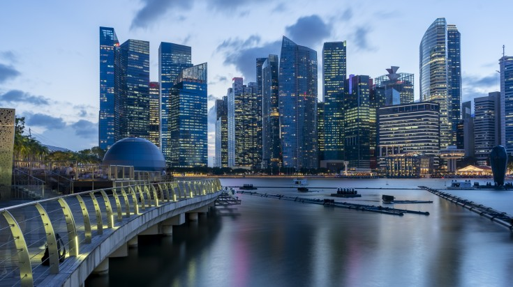 Be in complete awe as the city scape of Singapore will mesmerize you.