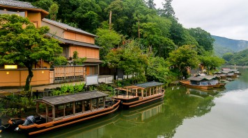 Winding through Kameoka to Arashiyama, Hozugawa is a must visit in Japan.