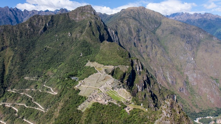 Huayna Picchu hike is rarely done by visitors to Peru