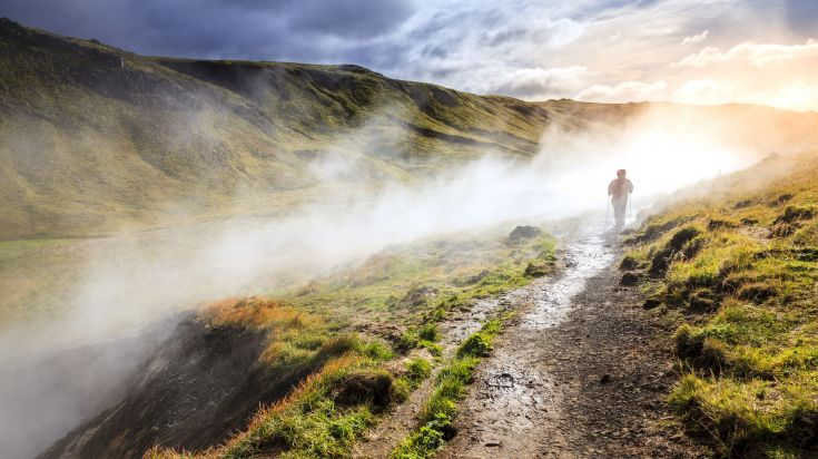 Day hikes to Hveragerdi is a popular day trip in Iceland