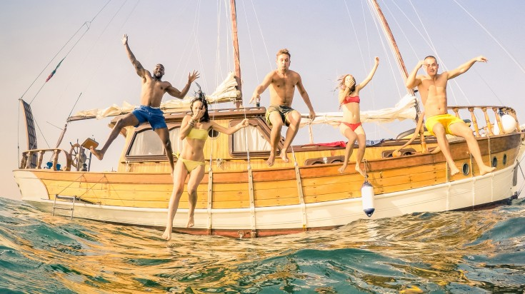 Explore Ibiza on a yacht