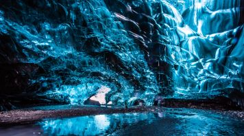Ice caves are found to be plenty in Vatnajokull glacier