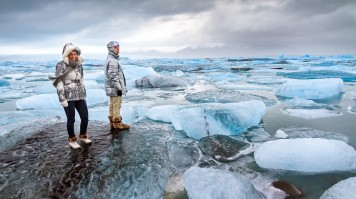 glacier tour on jokulsarlon in iceland