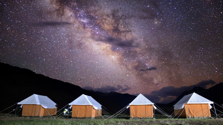 Hampta Pass Camp
