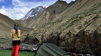Camp in Markha Valley in India