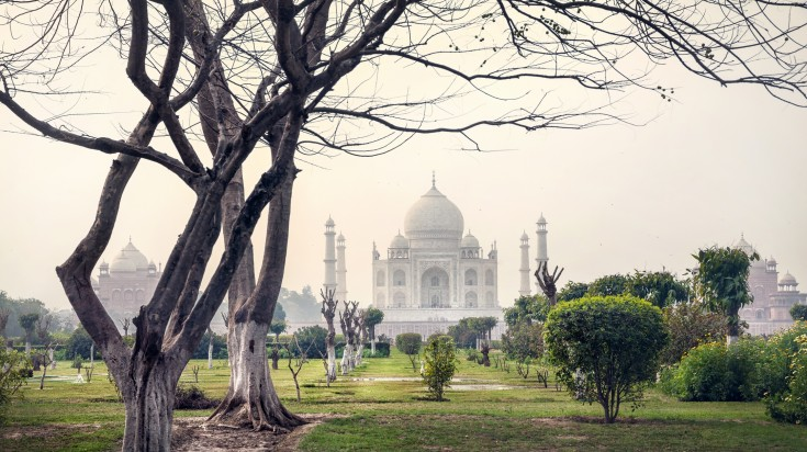 Mehtab Bagh in India