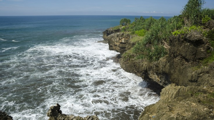 Pangandaran beach in one of the best Indonesia beaches