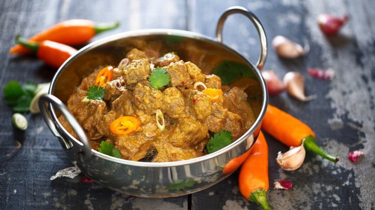 Beef rendang is a must try Indonesian food