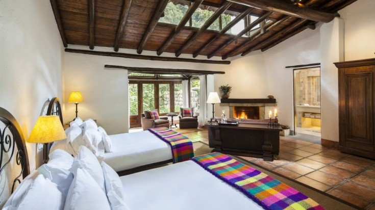 Inkaterra Machu Picchu Hotel is a luxury hotel near Machu Picchu