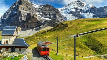 Interlaken is a great place in Europe for outdoor activities.