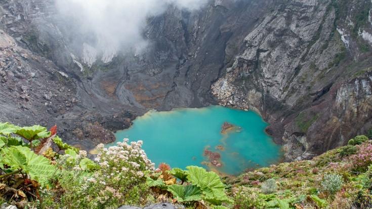 Irazu Volcano in Costa Rica is the closest to San Jose.