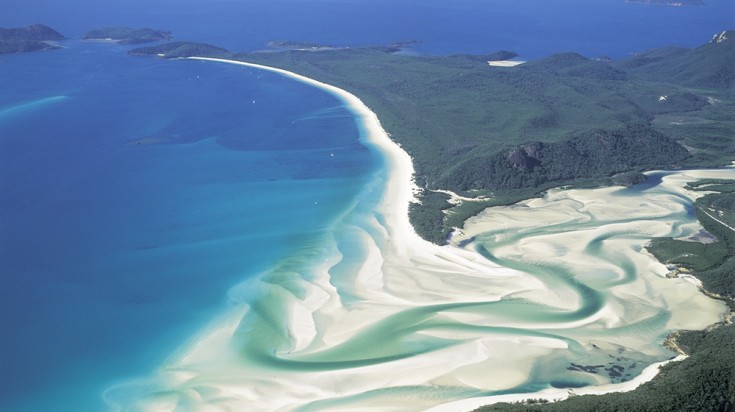 Islands in Australia Whitsundays Island