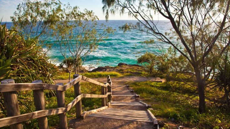 Islands in Australia Stradbroke island