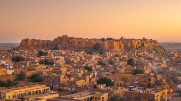 The Golden Fort in Jaisalmer