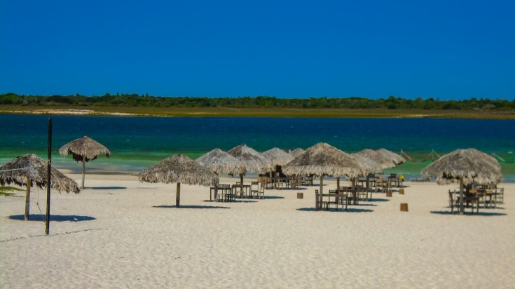 Jericoacoara is on e of the best beaches in South America