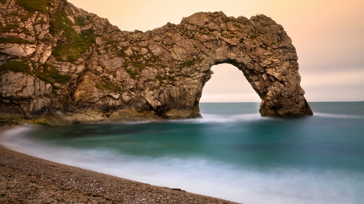 Jurassic Coast in the UK takes you on a walk through time