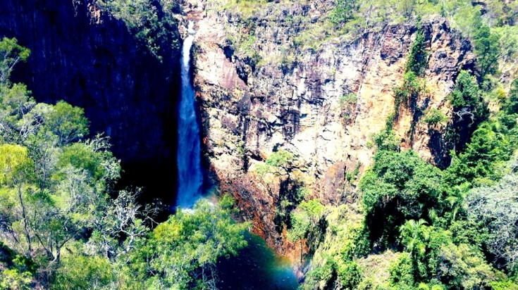 Kakadu National Park is known to have some pounding waterfalls.