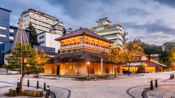 Yamashiro onsen, an onsen town in Kanazawa is a major attraction of Japan.