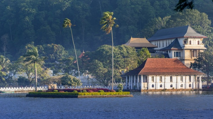 Kandy is a quaint hill city in Sri Lanka that is becoming a popular spot.