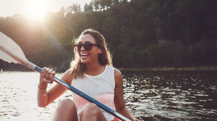 Kayaking in chile Lake District
