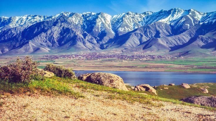 Khazret Sultan, the highest point of Uzbekistan