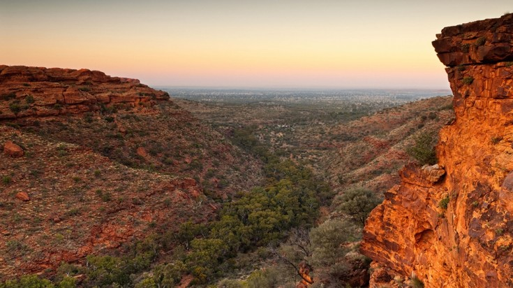 Kings Canyon is a great destination to experience the Australian outback