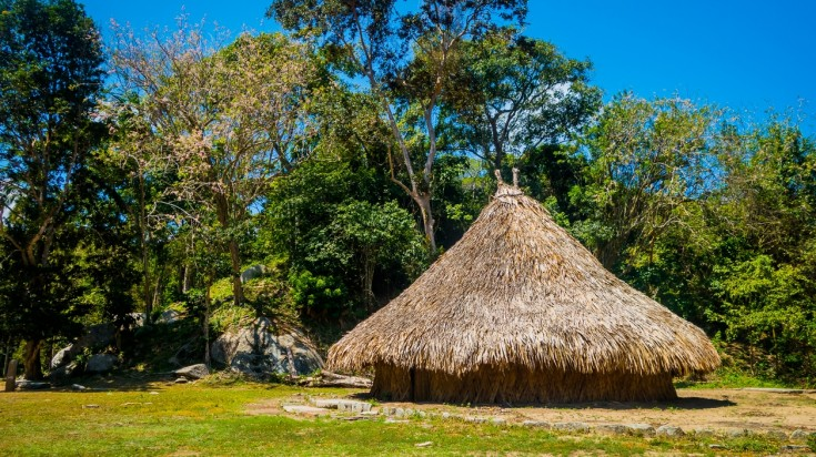 Kogi hut at Tayrona National Park