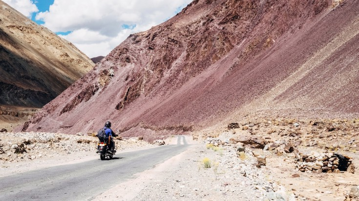 Explore Ladakh on Motorbike